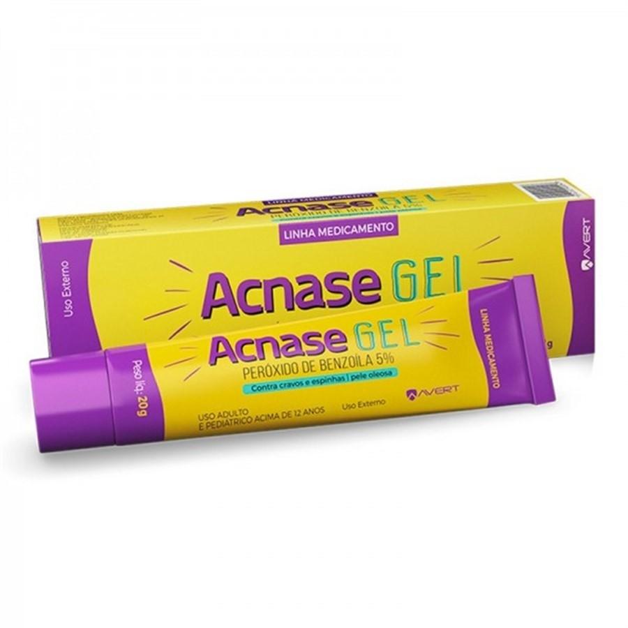 Acnase Gel Antiacne com 25g