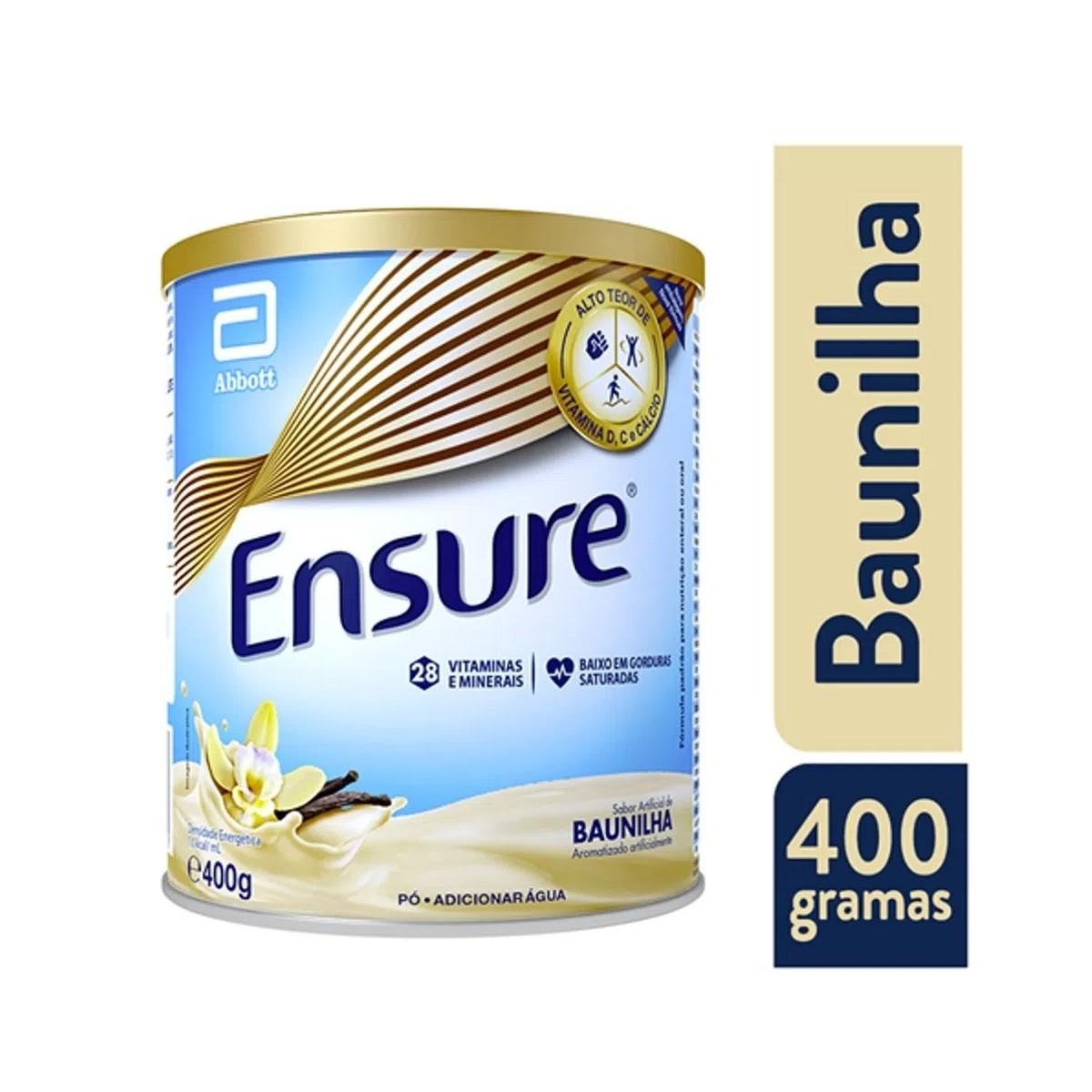 Ensure Baunilha 400g - Suplemento Alimentar