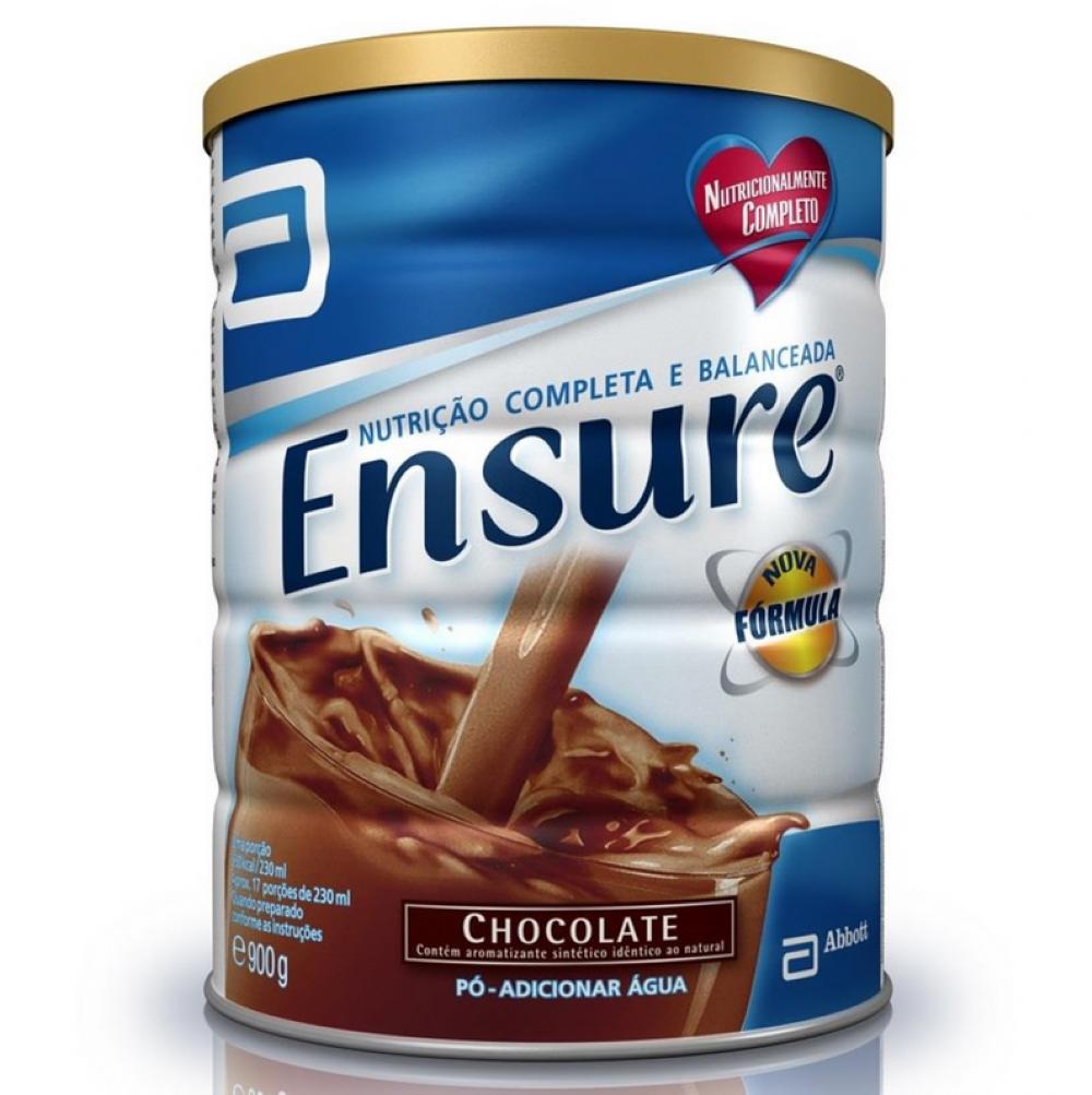 Ensure Chocolate 900g - Suplemento Alimentar