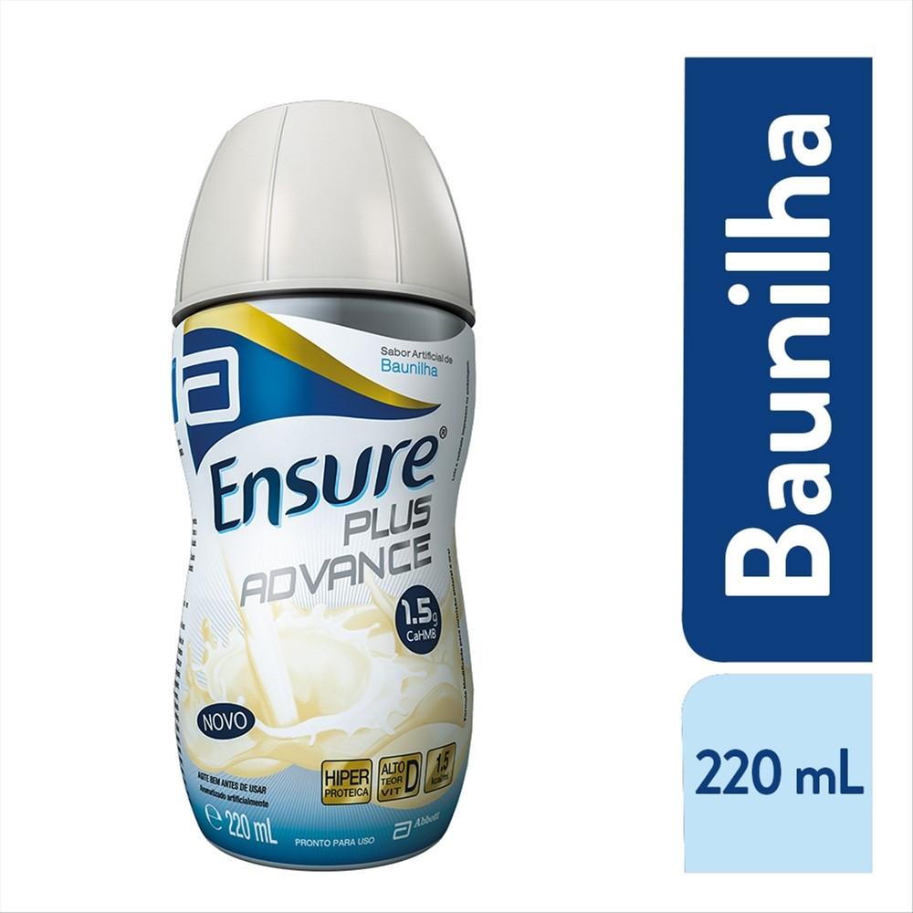 Ensure Plus Advance Sabor Baunilha 220ml