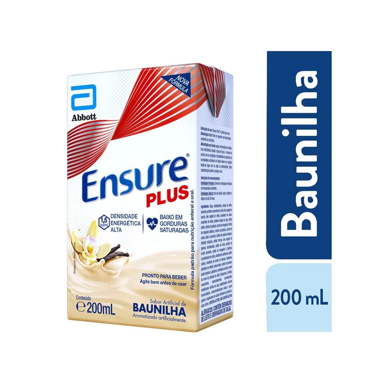 Ensure Plus Sabor Baunilha 200ml
