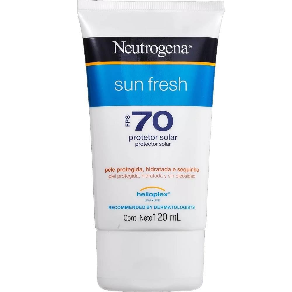 Neutrogena Protetor Solar Sun Fresh FPS70 120ML