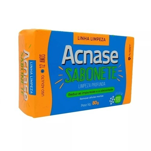 Sabonete de Limpeza Profunda Acnase Clean com 80g