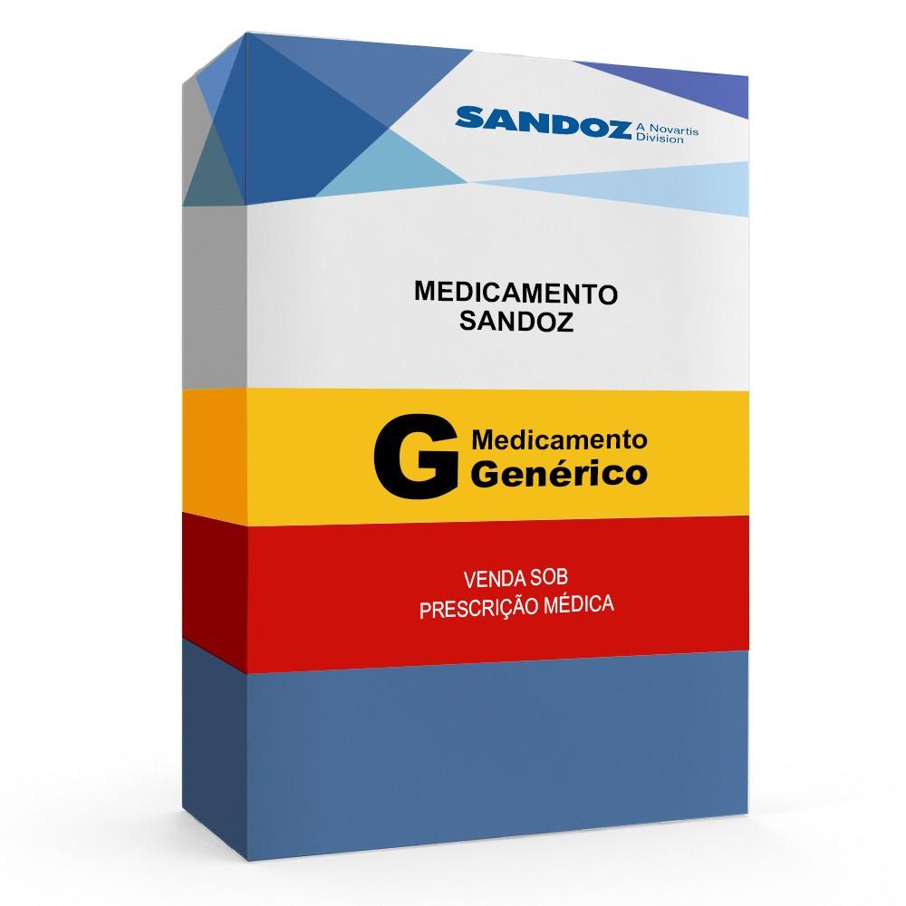 Amoxicilina + Clavulanato De Potássio Sandoz com 12 Cápsulas