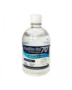 Álcool Em Gel SeptPro 70% Antisséptico Higienizador De Mãos 440g