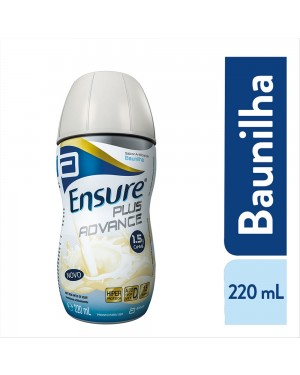 Ensure Plus Advance Sabor Baunilha 220ml
