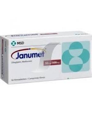 Janumet 50/500mg com 56 Comrpimidos