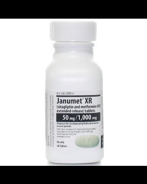 JANUMET XR 50/500MG 60CPR