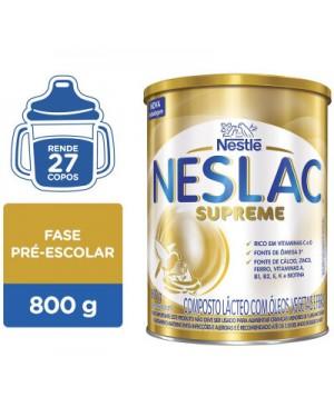 Neslac Supreme - Composto Lácteo - 800g