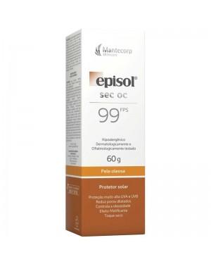Episol Sec Protetor Solar FPS99 Pele Oleosa 60g