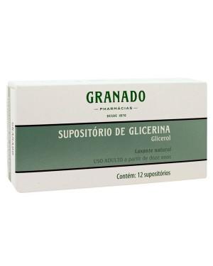 SUPOSITORIO GLICERINA GRANADO ADULTO 12UN